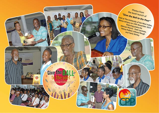Caribbean book launch and poetry evening, UWI, Mona, 13 November 2014